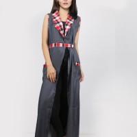 Oma Fashion Tamochi Long Cardigan Flanel - 3 Warna - Size L