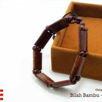 harga Vee Gelang Terapi Kesehatan Kayu Kokka Kaukah- Bilah Bambu Coklat V21 Tokopedia.com