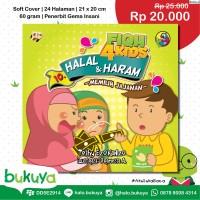 Buku Anak Fiqh For Kids 10 Halal & Haram Memilih Jajanan