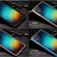 Alumunium Tempered Glass Bumper Hard Backcase  Xiaomi Mi4i Mi4c Mi 4