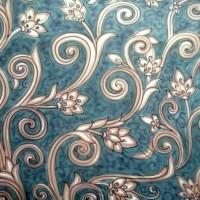 Background Studio Photo 3 X 2,5M Corak Motif Batik Jawa