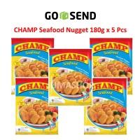 Paket Champ Seafood Nugget 180g 5 Pcs Jumashop Depok