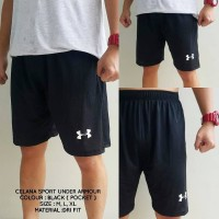 Celana Olahraga / Futsal / Running / Fitness / Pendek Under Armour Gym