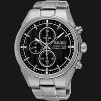 harga Jam Tangan Seiko Solar Ssc367p1 Chronograph Black Dial Titanium Tokopedia.com