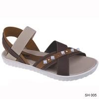 harga Sepatu Sandal Casual Wanita Sh 005 Tokopedia.com