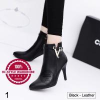 harga Sepatu Ankle Boots Shoes Wanita Korea Elegan Sexy Musim Dingin Heels 2 Tokopedia.com