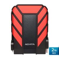 ADATA HD710 Pro - 2TB Hard Disk Eksternal USB3.1 Anti-Shock - Merah
