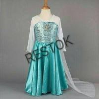 Jual Dress / Gaun / Kostum Elsa Frozen 4 Murah