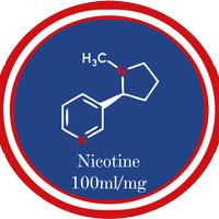 LIQUID NICOTINE / NIKOTIN CAIR 100MG/ML RTS VAPES (USA) 30ML