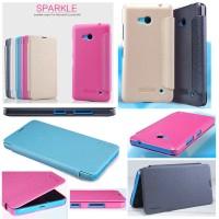 harga Nillkin Sparkle Leather Case Microsoft Lumia 640 Tokopedia.com