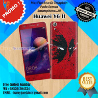 [Original] Garskin Huawei Y6 II Motif DeadPool - Free Custom Gambar