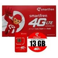 Perdana Kuota Smartfren GSM 13GB Belum Aktivasi dan SEGEL