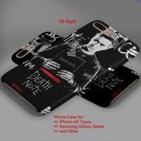 Death Note 2017 hard case,iphone case,semua hp