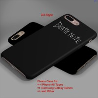 death note title font hard case,iphone case,semua hp