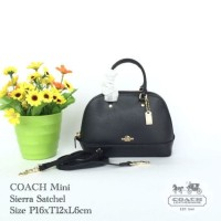 COACH Sierra Small Mini Satchel Tas Handbag Original Ori Murah