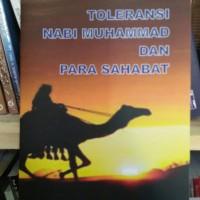 Toleransi Nabi Muhammad dan Para Sahabat - Prof Dr Abubakar Aceh