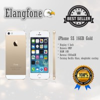 REFURBISHED APPLE IPHONE 5S-16 GB GOLD GARANSI DISTRIBUTOR 1 THN