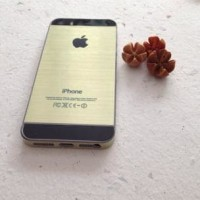 Sticker Gold For Iphone 4/S Or Iphone 5/S Alf35