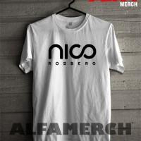 harga Tshirt / Baju / Kaos Nico Rosberg F1 Keren - Warung Kaos Tokopedia.com