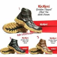 harga Sepatu Boots Tanpa Tali Kickers Prepet Gordon Kulit Tokopedia.com