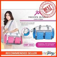 Tas Perlengkapan Bayi Large & Thermostat Pouch Moms Baby Motif 3023