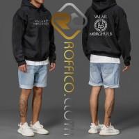 Jaket Hoodie Logo Valar Morghulis - Roffico Cloth