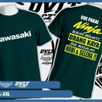 Kaos T shirt Kawasaki Ninja Pakai Ninja Bukan Berarti Orang Kaya