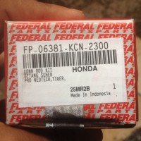 harga Stang Setang Con Rod Kit Piston Seher Seker Pro Neotech Megapro Tiger  Tokopedia.com