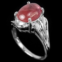harga Cincin Unisex  Genuine Pink Red Ruby Asli Perak925 Sz.5.5 Tokopedia.com
