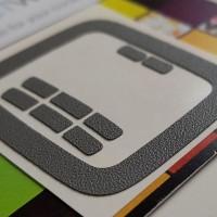 GadgetWraps Pebble Time Matte Grey Wrap