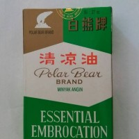 minyak angin cap beruang polar bear brand essential embrocation 27 cc