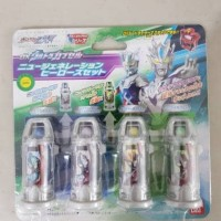 DX Ultra Capsule New Generation Heroes Set Ultraman Geed