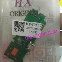 PAPAN CAS PCB BOARD KONEKTOR CONNECTOR CHARGER CAS LENOVO A850 ORI