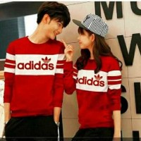 CP MIDAS/4W GESER GAMBAR KEKIRI/baju couple murah/sweater couple murah