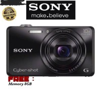 kamera sony cybershot DSC-WX220 FREE MEMORY 8GB (GARANSI RESMI SONY)