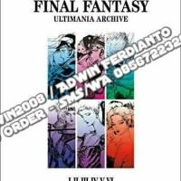 PO - US IMPORT - ARTBOOK - Final Fantasy Ultimania Archive Vol.1