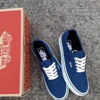ee774b52b5 Sepatu vans authentic navy blue premium bnib