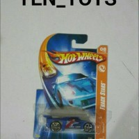 Hot Wheels Bassline ( Track Stars Biru )