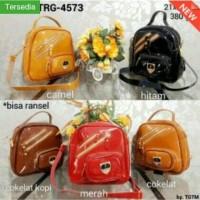 Tas ransel TRG-4573/Tas ransel wanita/tas furla zipper/backpack 2in,