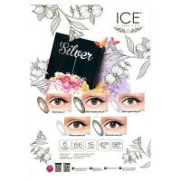 Softlens / Softlense Ice Silver Minus
