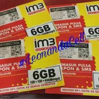 Kartu Perdana Internet IM3 Ooredo 6GB. Masa aktif terupdate
