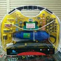 Drill Listrik/Bor PCB - Mesin Gerinda Mini 211Pcs - Lanyazi Original