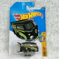 Hot Wheels VW Kool Kombi Mooneyes Hitam Hotwheels Volkswagen
