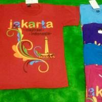 Jual kaos monas jakarta/oleh2/suvenir fashion Murah