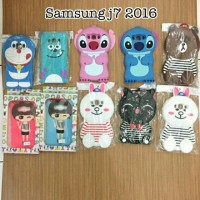 CARTOON CASE 4D SAMSUNG J7 2016 / J710
