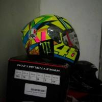 Helm repaint Agv seloluna 2017 basic helm baru kyt vendetta 2 carbon