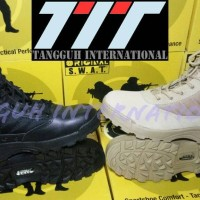 """Sepatu SWAT Combat 8 in Original Boots Tactical Army PDH PDL 8"""" Shoes"""