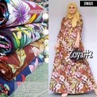 Baju Terusan Wanita Muslim Longdress Zoya #2