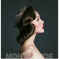 Baroque Vintage Luxury Crystal Queen King Crown Bridal Tiaras