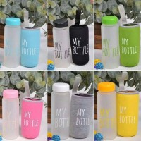 Jual My Bottle Frosted Infused water / Botol air minum Doff Murah